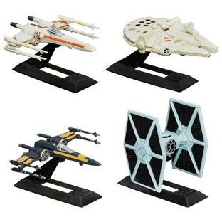 Star Wars: The Force Awakens Black Series Vehicles 4 Pack half price £11.49 Argos