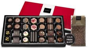 Hotel Chocolat Box and gift delivered for £6.95 (possibly £1.95 after quidco