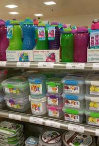 All Sistema Klip It sandwich boxes, bottles and storage boxes reduced to £1 at Waitrose instore
