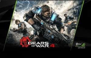 GEARS OF WAR 4 CODE FREE WITH QUALIFYING NVIDIA CARDS (1070,1080)