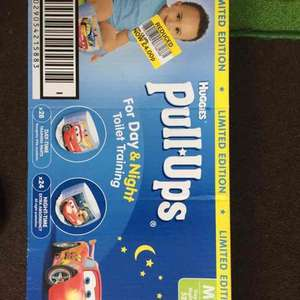 Huggies pull ups - Tesco instore (Bury) - £4.00 for 28 x day and 24 x night Pull Ups