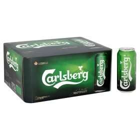 20 cans of Carlsberg Lager for £10 at Asda
