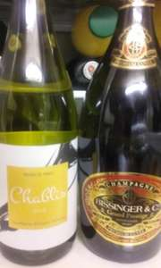 Bissinger & Co Champagne £3.99 (70cl) - Lidl Wine Clearance (Bordon but maybe National)