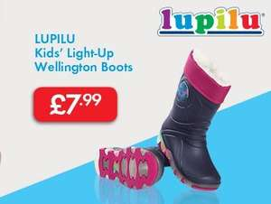 Kids' Light-Up Wellington Boots £7.99 @ Lidl