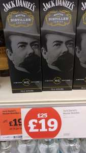 Jack Daniel's master distiller series no 1 £19 at Sainsburys