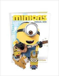 Minions annual 2016 29p delivered with prime