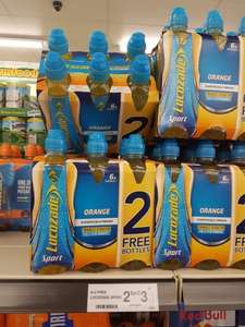 Lucozade Sport 2 packs of 6 for £3 in Farmfoods