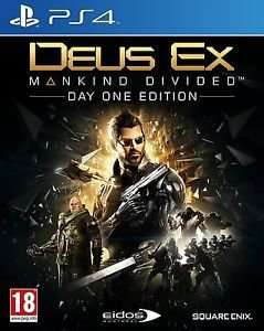Deus Ex Mankind Divided (Day One Edition) (New) Ps4 £19.99 @ funboxmedia via eBay