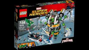 LEGO 76059 Super Heroes Spider-Man Doc Ock's Tentacle Trap - Amazon Prime (RRP £44.99)