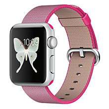 Original Apple Watches at John Lewis in the following models: 38mm for £199, 42mm £249, 38mm stainless £399 and 42mm stainless £429 with 2 year warranty @ John Lewis