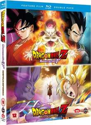 Dragon Ball Z: Battle of Gods / Resurrection F Blu Ray £11.99 Prime or £13.98 non prime @ Amazon
