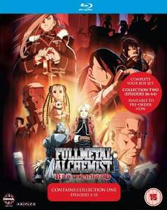 Fullmetal Alchemist Brotherhood Collection One (Eps 1-35) Blu-ray £8 with Prime or £9.98 @ Amazon with delivery (was £33) plus other anime