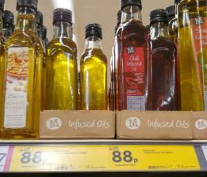 Garlic/Chilli Infused Olive Oil (Morrisons was £2.20 Now 88p)