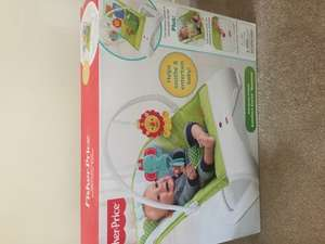 Fisher-Price rainforest friends comfort curve bouncer £10 instore @ Tesco Ayr. Still £28.50 at tesco direct