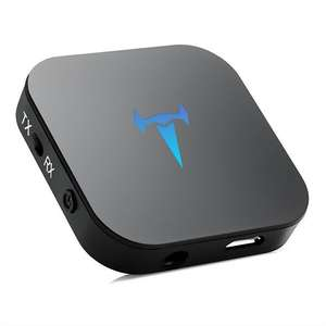 BT-4 Bluetooth 4.1 2 in 1 Transmitter/Receiver Wireless 3.5mm Portable Adapter Bluetooth Transmitter £16.79 Sold by SEGURO and Fulfilled by Amazon