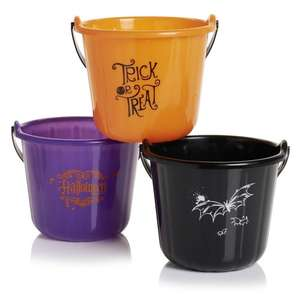 Halloween kids bucket to store the treats 50p @Wilko Free C&C