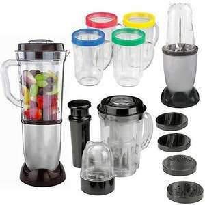 17PC MULTI BLENDER CHOPPER FOOD PROCESSOR JUICER SMOOTHIE MAKER KITCHEN MIXER now £19.49!! direct2publik / Ebay