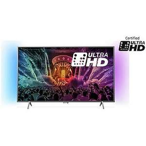 Philips 49PUS6401  49 Inch 4K Ultra HD AMB Smart TV - £499.99 Argos