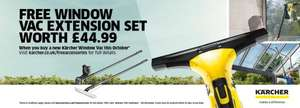 Free Karcher Vac Extension Kit (Worth £44.99) with Karcher Vac Purchase