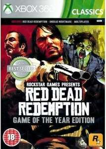 [Xbox 360 BC With Xbox One] Red Dead Redemption: GOTY (Base.com) £11.99