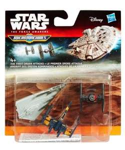 Star Wars The Force Awakens Micro Machines 3Pack £5.44 Delivered (£2.49 plus £2.99 del charge) @ ToysRUs