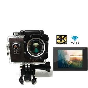 UthCracy 4K WIFI 16MP FHD Sports Action Camera Waterproof with Free Accessories (Black) - £28.01 with promotion Sold by UthCracy Direct and Fulfilled by Amazon.