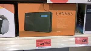 Goodmans Canvas DAB / FM Radio - £20 instore @ Sainsburys