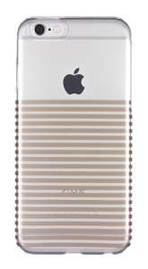 Case it Cover for iPhone 6/6s Inspire Stripe Gold Hardshell Case £2.99 @ ebay (vodafonestore)
