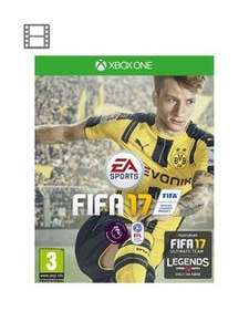 FIFA 17 for Xbox One or PS4 £29.99 at Very.co.uk using code KGXXA