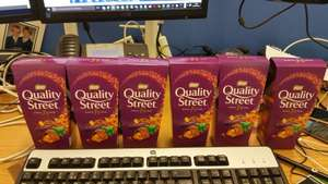 Quality Street - 257g carton - Tesco instore - £1.50 For two