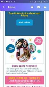 100 pairs of FREE tickets for Baby and Toddler show at EventCity on Friday 7th Oct