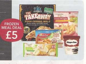 Co-op Frozen meal deal £5.00