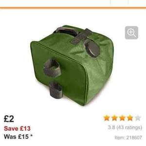 gazebo weights was £15 now £2 @ Halfords!