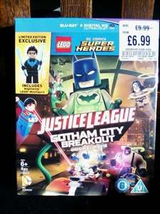 Lego Justice League Gotham city breakout blu-ray ( includes nightwing minifigure) £6.99 at HMV