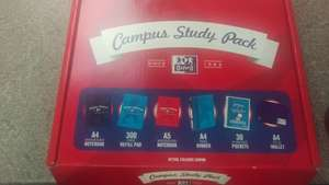 "Campus Study Pack ""Oxford"" 6pcs £8.00 @ Tesco"
