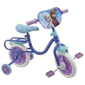 """Frozen child's 10"""" bike with stabilizers £25 @ Tesco Direct (free C&C)"""