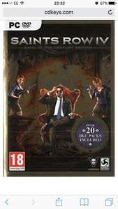 Saints Row 4: Game of the Century Edition PC (Steam) @ cdkeys £3.99 before code.