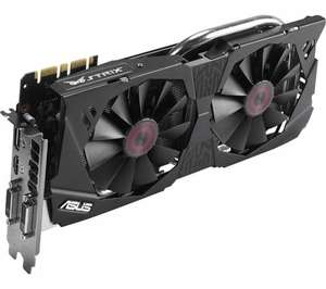ASUS STRIX GeForce GTX 970 Graphics Card NVIDIA £172 Currys/eBay