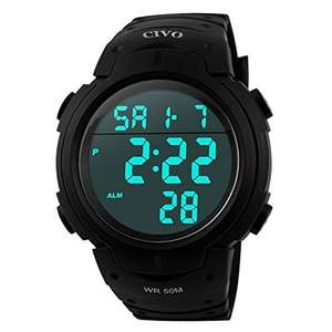 CIVO Men's Sport Watch £11.89  Sold by CIVO-UK and Fulfilled by Amazon - lightning deal