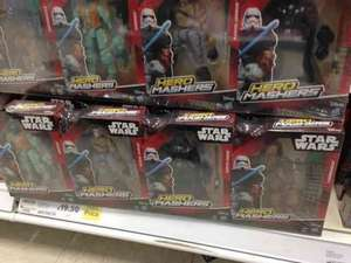 Star Wars Hero Masher 4 pack bundle £19.95 at Tesco