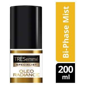 Tresemme Oleo radiance Bi-phase conditioning mist at Poundworld £1