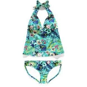Cherokee Women's Hibiscus Tankini - Sizes 10 / 12 / 14 / 16 / 18 was £12.00 now £3.00 @ Argos