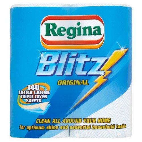Blitz Regina Kitchen Rolls  (2 Pack) £1.75  @ Wilko