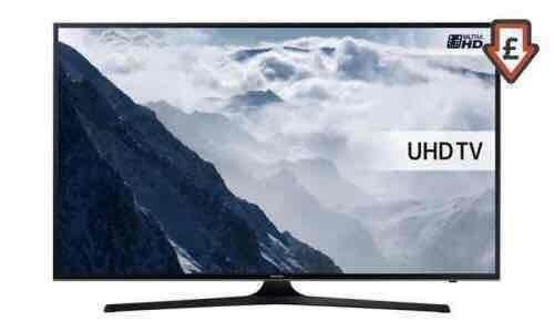 """Samsung 50"""" UHD 4K HDR TV UE50KU6000 £489 @ Groupon"""