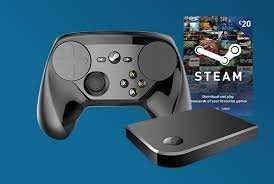 Steam Link with Steam Controller and £20 Steam Wallet Top Up Bundle. £74.99 @ GAME