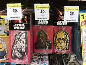 Star Wars(Trek) themed air fresheners for car at Tesco Extra Craigavon down to 50p / 25p