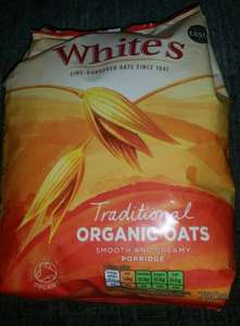 Whites organic oats 750g only 50p @Tesco