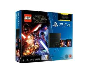 Sony Playstation 4 Console With Lego SW and FA 500GB £149.99 / PS4 and Fifa 17 £149.00 / 1TB SW and FA £179.99 @ Amazon
