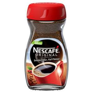 Nescafe Original Instant Coffee 200g £3 Tesco-Groceries