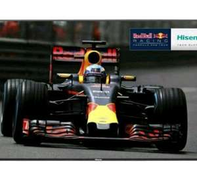 "Hisense HE58KEC730UWTSD 58"" Smart 3D 4K Ultra HD TV - Silver £559 AO"